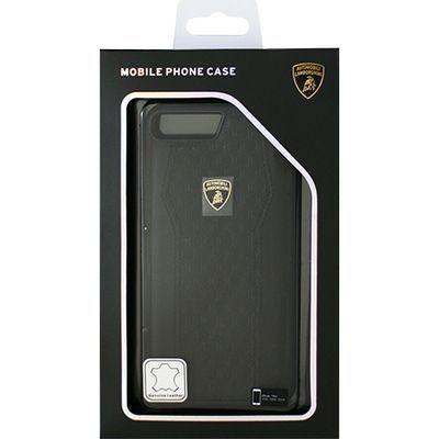 エアージェイ Genuine Leather S-Skin Case - Black ランボルギーニ LB-TPUPC・・・