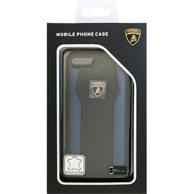 エアージェイ Genuine Leather S-Skin Case - Blue ランボルギーニ LB-TPUPCI・・・