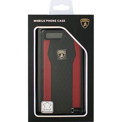 エアージェイ Genuine Leather S-Skin Case - Red ランボルギーニ LB-TPUPCIP・・・