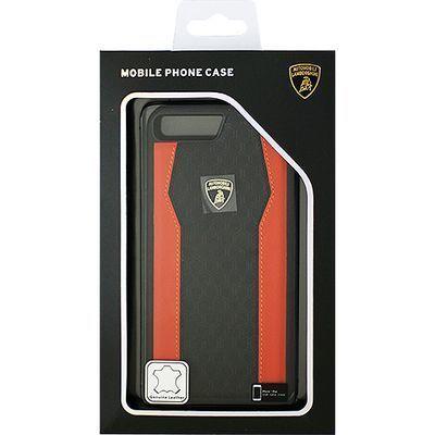 エアージェイ Genuine Leather S-Skin Case - Orange ランボルギーニ LB-TPUP・・・