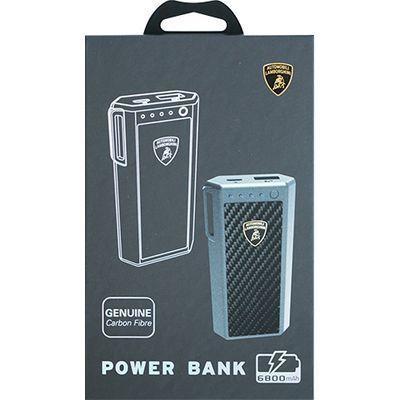 エアージェイ Genuine carbon fiber power bank -6800mAh ランボルギーニ LB-・・・