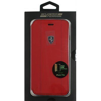 エアージェイ FERRARI PU leather Booktype Case classic style - Red FEOSTF・・・