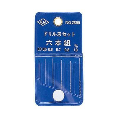 ミネシマ ドリル刃セット 6本組 L-8 4902944170305