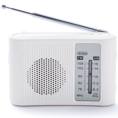 【60個セット】スピーカー付きワイドFM&AMラジオ 232023・・・