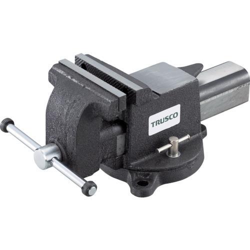 トラスコ中山 TRUSCO 回転台付アンビルバイス (125mm) VRS-125N VRS-125・・・