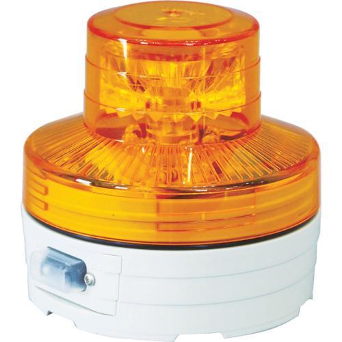 日動工業 日動 電池式LED回転灯ニコUFO 常時点灯タイプ 黄 NU-AY NU-A・・・