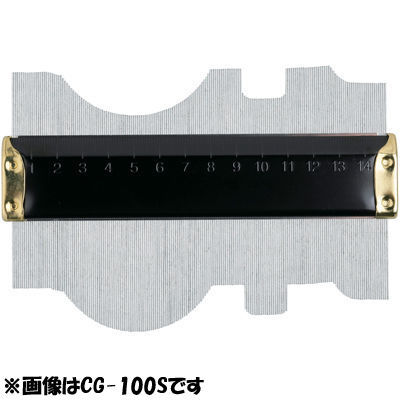 新潟精機 型取りゲージ CG-300S 4975846679009