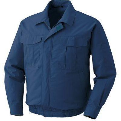 空調服 綿薄手ワーク空調服(ウェア・ファン2個・ケーブル・電池ボックス) M・・・