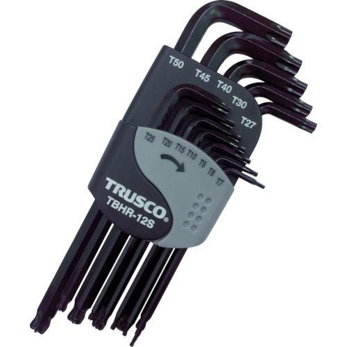 トラスコ中山 TRUSCO ボールポイントヘックスローブレンチセット(12本組)T7H~・・・