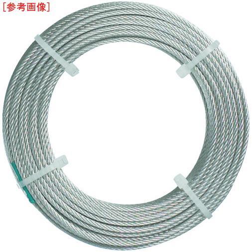 トラスコ中山 TRUSCO ステンレスワイヤロープ ナイロン被覆 Φ2.0(2.5)mmX50 ・・・