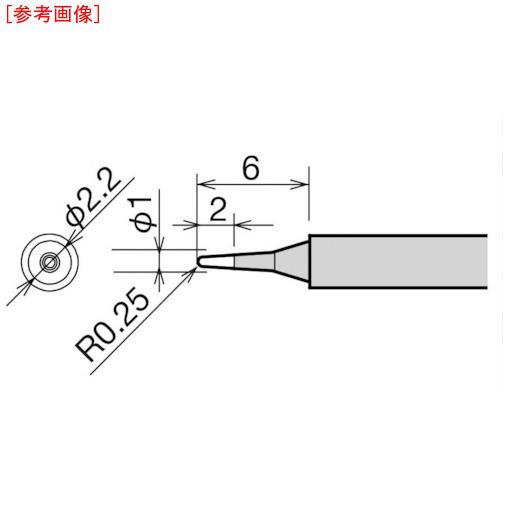太洋電機産業 グット 替こて先 1.5K型 RX-812AS/802AS RX81HRT1.5・・・