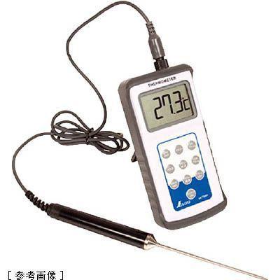 シンワ測定 シンワ     デジタル温度計H-2最高最低隔測プローブ防水・・・