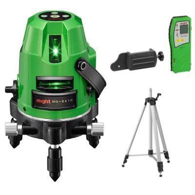 マイト工業 高輝度グリーンラインレーザー墨出し器MG-841G本体+受光器(MK-401・・・