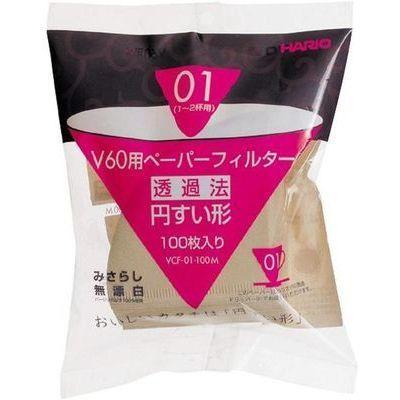 ハリオ HARIO(ハリオ)V60用ペーパーフィルター01M 100枚 VCF-01-100M be43・・・