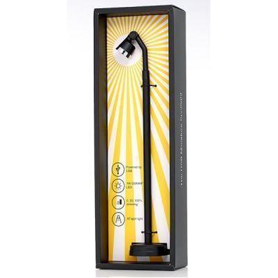 HOBBYLIGHT USB型ミニスポットライト スタンド30cm 黒 MP300BK3000 3000・・・