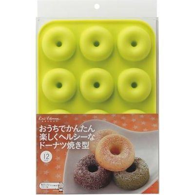 貝印 ドーナツ型 ドーナツ焼き型 ミニ 12個取り kai House SELECT DL-6245 49・・・