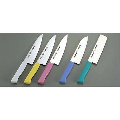 MILD CUT-2000 カラー庖丁 牛刀 MCG 18㎝ グリーン EBM-7383150