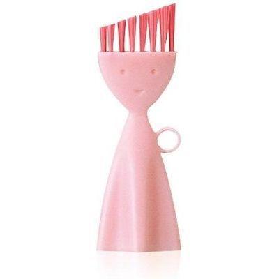 マーナ お弁当箱洗いブラシ ピンク E033561H