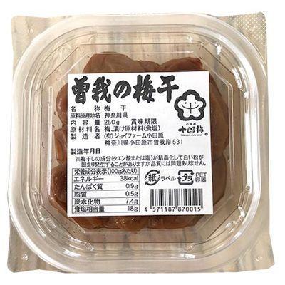 ジョイファーム小田原 曽我の梅干し 250g E120784H