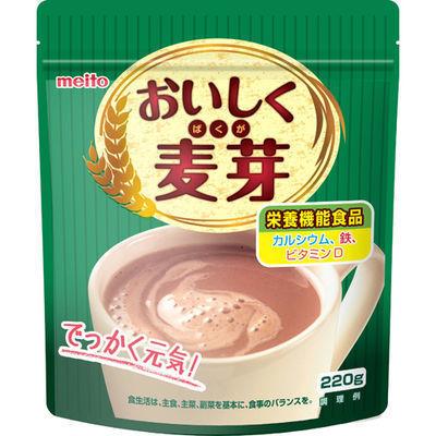 名糖産業 名糖 おいしく麦芽 220g E489399H