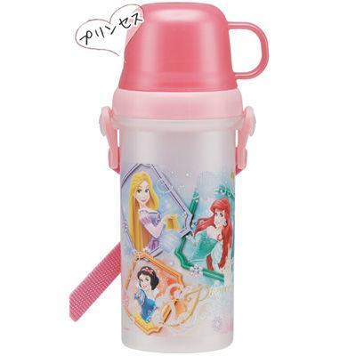 直飲みコップ付きプラ水筒 PSB5KD プリンセス bg857-Princess プリンセ・・・