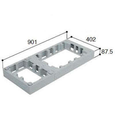 城東テクノ ハウスステップオプション アジャスター1段 CUB-6040-H・・・
