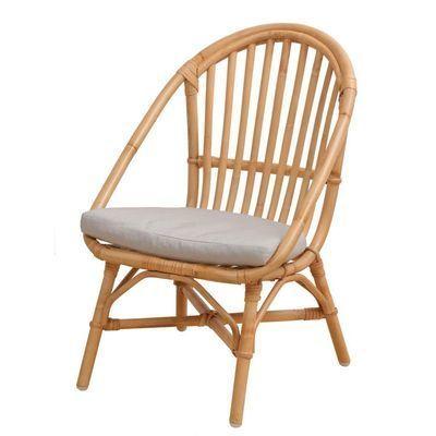市場 Rattan Chair (mini)  RC-2955(NA) ※クッション付