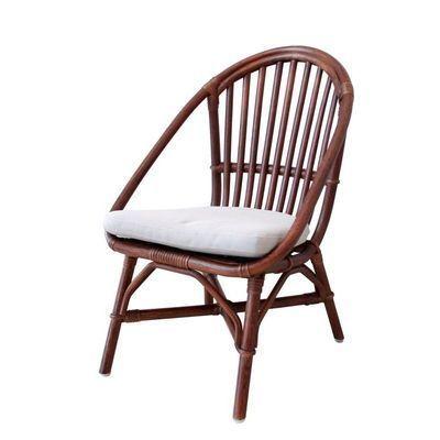 市場 Rattan Chair (mini)  RC-2955(BR) ※クッション付