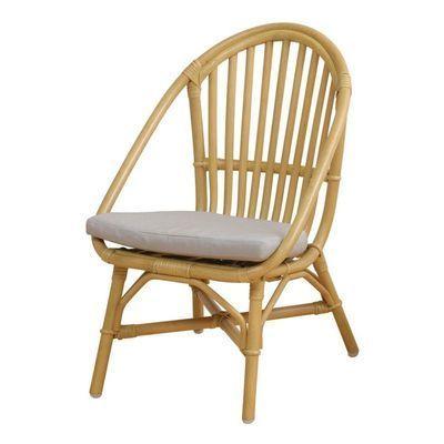 市場 Rattan Chair (mini)  RC-2955(YL) ※クッション付