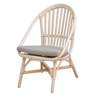 市場 Rattan Chair (mini)  RC-2955(WH) ※クッション付