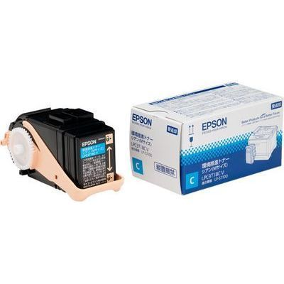 エプソン 環境推進トナー(V) LP-S7100用 シアン (Mサイズ/6、500ページ) LPC3・・・