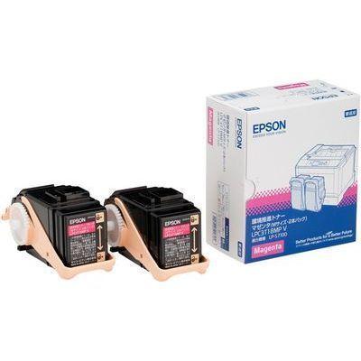 エプソン 環境推進トナー(V) LP-S7100用 マゼンタ2本パック (Mサイズ/6、500・・・