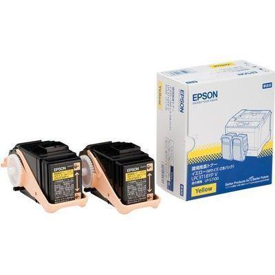 エプソン 環境推進トナー(V) LP-S7100用 イエロー2本パック (Mサイズ/6、500・・・
