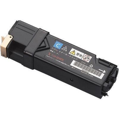 XEROX DocuPrintC1100用 大容量シアントナー/CT201087(2000枚) XE-TNC1100CY-・・・