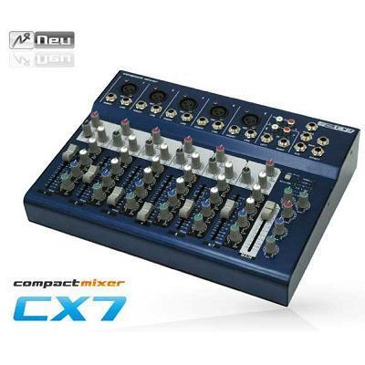 NEU ヌー コンパクト7チャンネルミキサー CX7