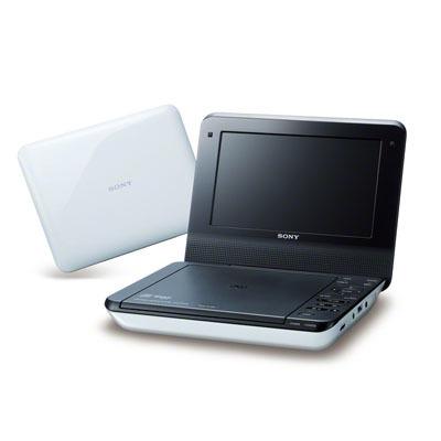 ソニー 7インチポータブルDVDプレーヤーオーディオDSP搭載(ホワイト) DVP-FX7・・・