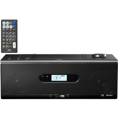 ビクター Bluetooth/NFC機能搭載CDポータブルシステム (RDW1B)(ブラック) RD-・・・