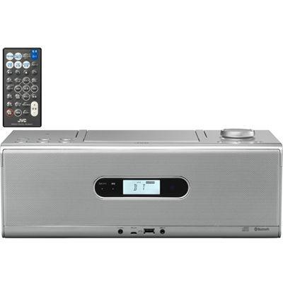 ビクター Bluetooth/NFC機能搭載CDポータブルシステム (RDW1S)(シルバー) RD-・・・