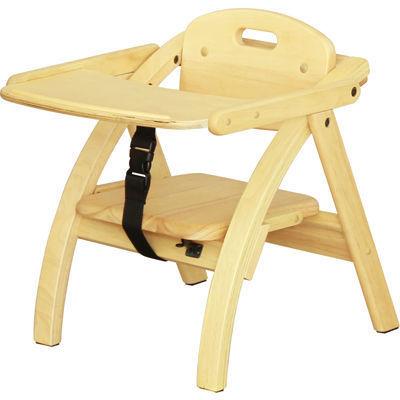 大和屋 アーチ木製ローチェア N NA(ナチュラル) 4539066025307 ナチュラ・・・