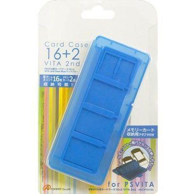 アンサー PS VITA用 「カードケース16+2 VITA 2nd」 (ブルー) ANS-PV041BL ブ・・・