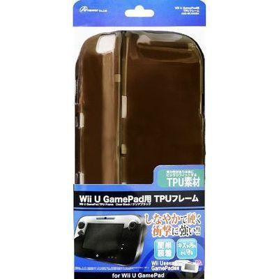 アンサー Wii U GamePad用「TPUフレーム」(クリアブラック) ANS-WU006B・・・