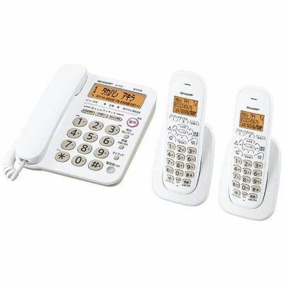 シャープ デジタルコードレス電話機(子機2台) ホワイト系 JD-G32C・・・