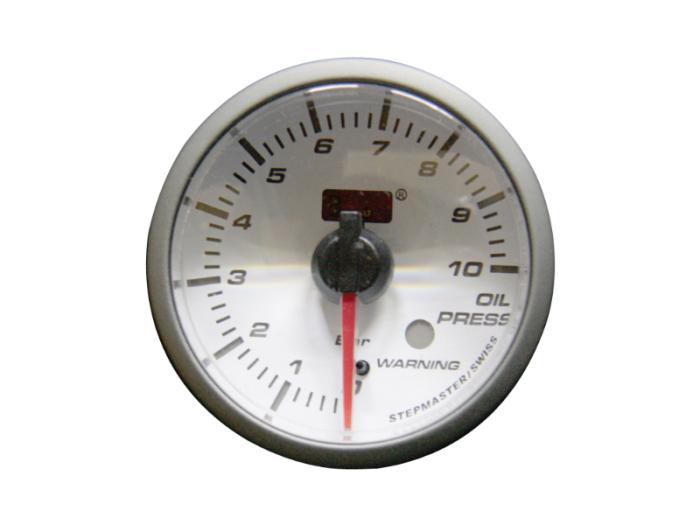 オートゲージ 油圧計 自動車用メーター ag-op52smw [ホワイトフェイスSMタイ・・・