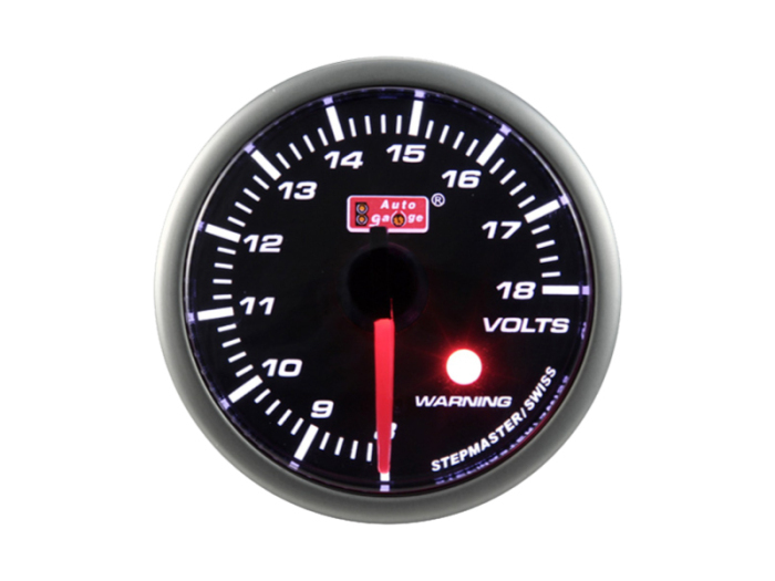 オートゲージ 電圧計 自動車用メーター ag-vo60sm [SMタイプ φ60mm・・・