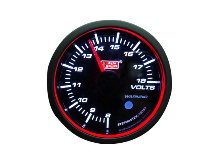 オートゲージ 電圧計 自動車用メーター ag-vo60rsm [エンジェルリング RSMタ・・・