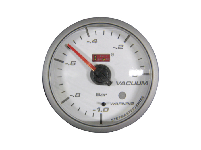 オートゲージ バキューム計 自動車用メーター ag-vc60smw [ホワイトフェイスS・・・
