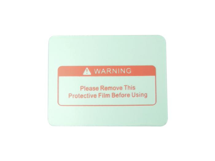 溶接面番号用保護フィルム 外側 保護プレート ver2