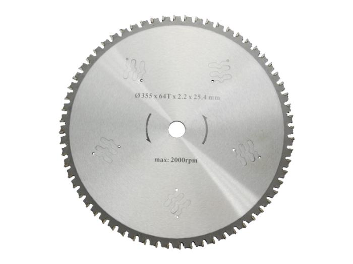 鉄工用超硬炭化タングステンチップソー355mm64・・・