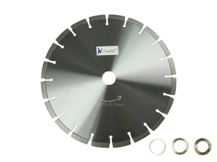乾式/湿式 ダイヤモンド 12吋x10x30.5mm ダイヤモンドカッター300x10x30.5m・・・
