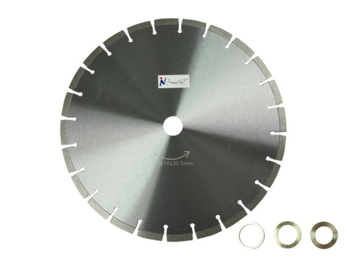 乾式/湿式 ダイヤモンド 14吋x10x30.5mm ダイヤモンドカッター350x10x30.5m・・・